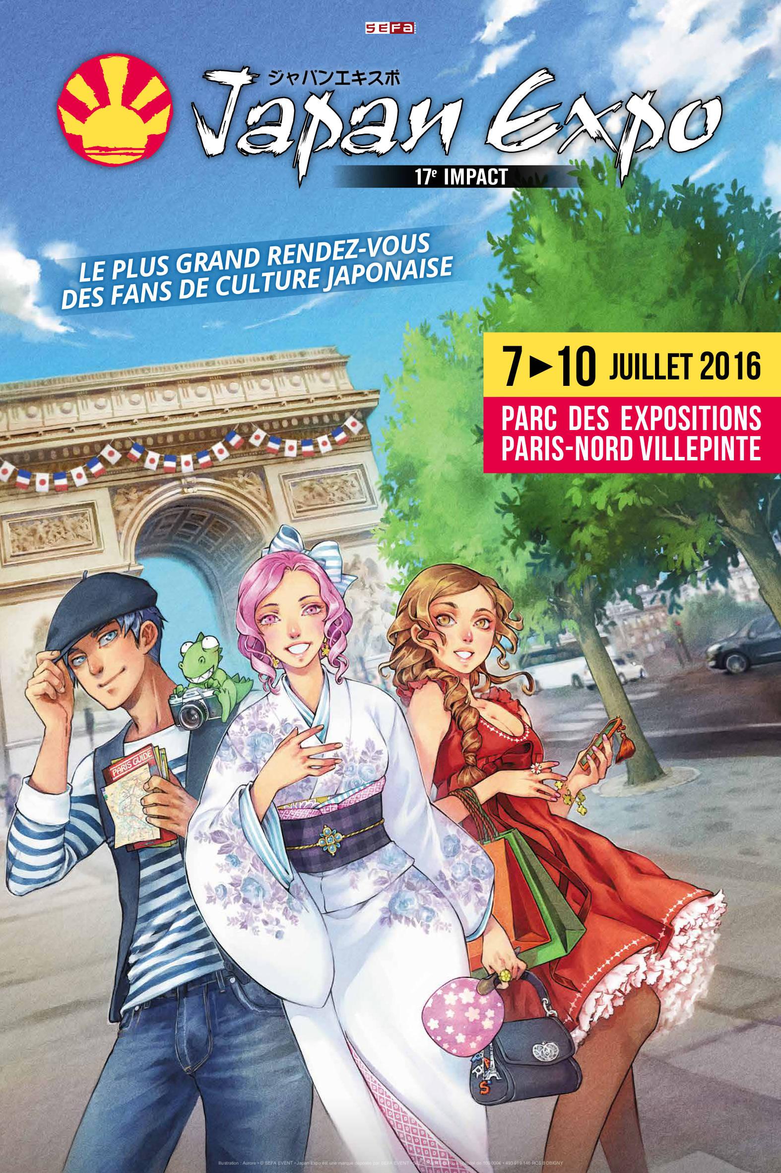 Convention Japan Expo 17 Paris Thomas Cyrix